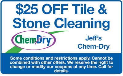 $25 off tile and stone cleaning coupon