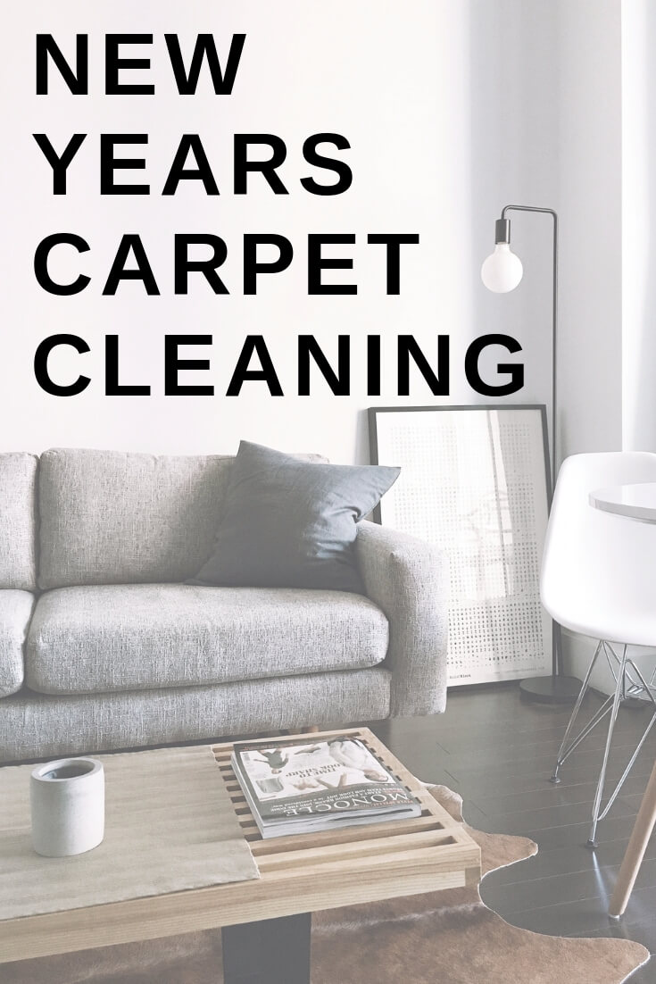 New years carpet cleaning